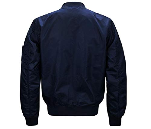 Coreana Solido Bomber Uomini Xinheo Alla Outwear Colletto 1 Plus size Svago q1RT0q