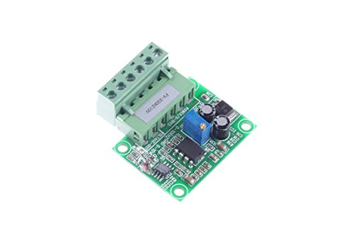 KNACRO 200HZ to 10V Frequency to Voltage Conversion Module 0-200Hz to 0-10V F/V Conversion Module Digital to Analog Converter Module (0-200HZ to 0-10V)