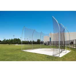8'' x 76' 8'' Barrier Net for the NCAA Aluminum Discus Cage by Gill Athletics