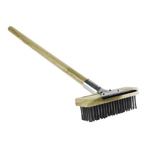 Generic 83314 Broiler Brush With Scraper, S/S Bristle, 26'' by Generic