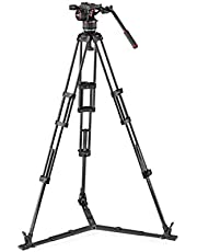 Save on Manfrotto MVKN8TWINGC Nitrotech N8 Professioneller Fluid Videokopf (mit Doppelrohr Carbon-Stativ und Bodenspinne für DSLR, Spiegellose, Video- und Filmkameras bis zu 8 kg) and more