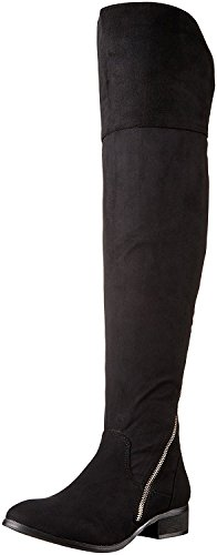 Report Signature Gwyneth Women US 5 Black Over The Knee Boot
