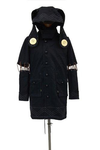 Datum-a-live vier Gewinde Akino Bild Mods Mantel SchwarzGröße  S (Japan-Import)