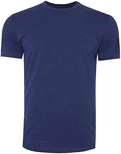 STÓR Bamboo Luxe Camiseta de cuello redondo de bambú, 1 paquete, S ...