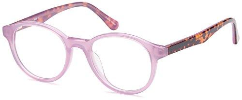 DALIX Girls Prescription Eyeglasses Frames 47-19-140-41 RXable in Purple - Online Kids Eyeglasses