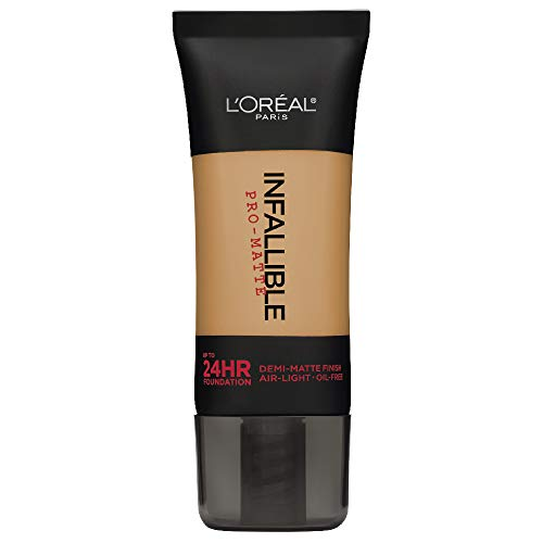 L'Oreal Paris Infallible Pro-Matte Foundation, Fresh Beige [107] 1 oz (Best Foundation For 60 Year Old Skin)