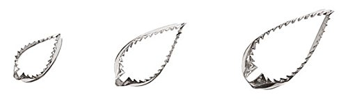 Paderno World Cuisine Stainless Steel Straight Leaf Cutter, Set of 3 by Paderno World Cuisine