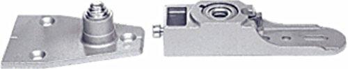 CRL Floor Mount Bottom Pivot Set for Use with 1-1/2