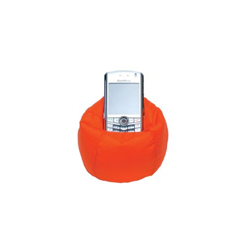 Lug Beanie Chair Cell/iPod Holder, Sunset Orange Beanie-Sunset Orange