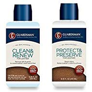 Guardsman Leather Care Bundle: Leather Cleaner and Leather Protector by Guardsman