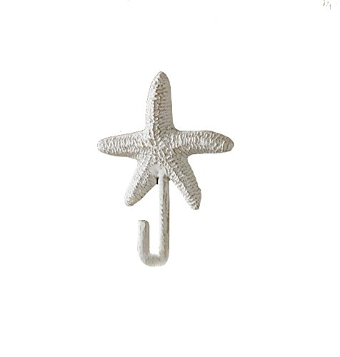 Park Designs Starfish Single Hook Animal Shape Wall Hook
