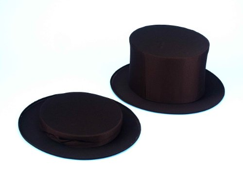 Collapsible Top Hat Black Adult -