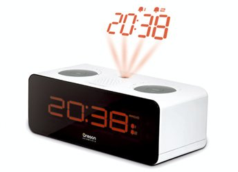 Oregon Scientific RRA320P Radio Reloj Proyector, Blanco: Amazon.es ...