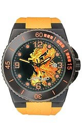 Ed Hardy Men's IM-DR Immersion Yellow Watch by Ed Hardy