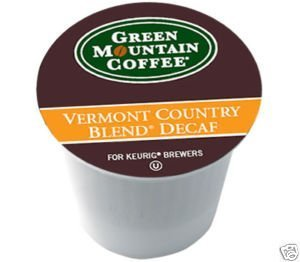 (Green Mountain Coffee Vermont Country Blend DECAF 108 K-Cups + 12 Bonus K-Cups)