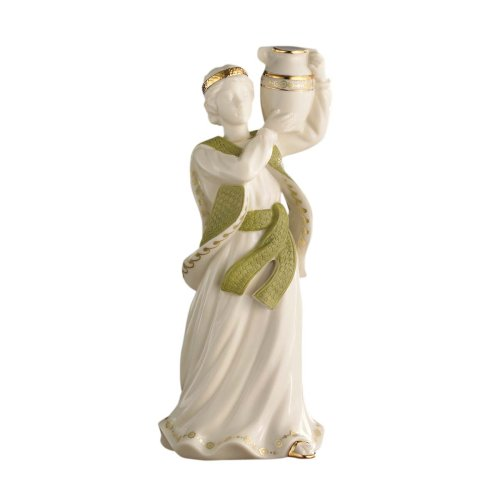 Lenox First Blessing Porcelain Nativity Figurine, Boy with Water Jug