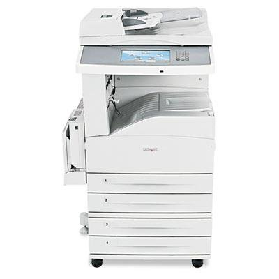 "Lexmark - X862dte Multifunction Laser Printer Copy/Fax/Print/Scan ""Product Category: Office Machines/Copiers Fax Machines & Printers"""