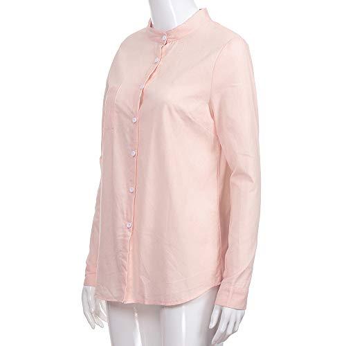 ... e Invierno Blusas para Mujer Camisas Mujer Collar de algodón Manga Larga Blusas Sudadera con Capucha Tops Camisetas Mujer: Amazon.es: Ropa y accesorios