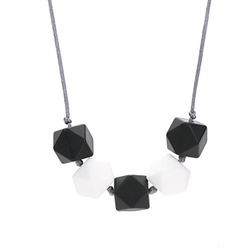 Silicone Teething Necklace Choices BPA Free