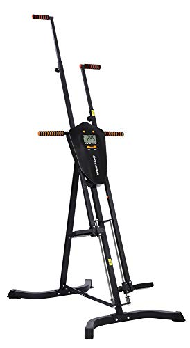 CITYBIRDS Vertical Climber, Folded Climbing Cardio Exercise Equipment Full Body Workout for Women Men, Stair Climber with 5 Height Adjustable and Digital Monitor