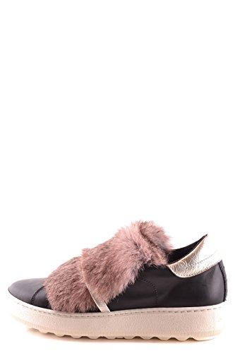 Philippe Model Ladies Mcbi238057o Sneakers In Pelle Nera