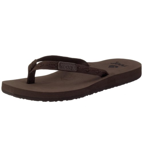 - Reef Women's Ginger Sandal,Brown/Brown,10 M US