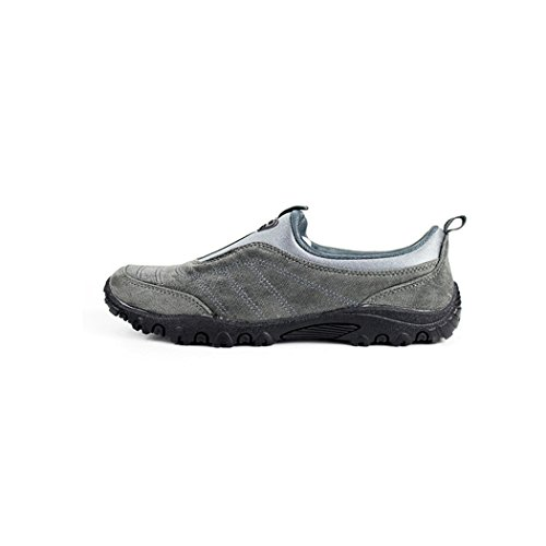 KENSBUY Womens Comfortable and Non-Slip Pure Color Shoes,Sneakers,Outdoor, Walking,Exercise,Climbing Grey