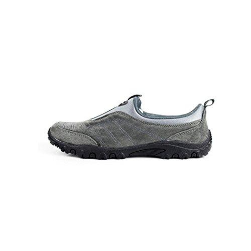 Kensbuy Donna Scarpe Comode E Antiscivolo Di Colore Puro, Scarpe Da Ginnastica, Outdoor, Walking, Exercise, Climbing Grey