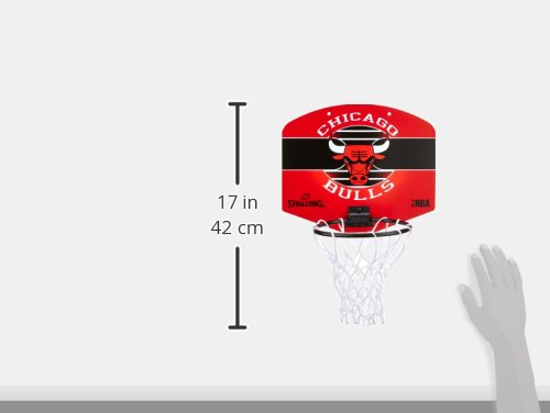 Spalding Mini Canasta NBA Miniboar Chicago Bulls