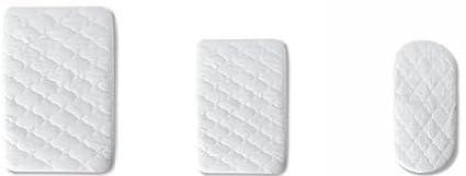 Pirulos 41500001 - Protector colchón, algodón, 80 x 130 cm, color blanco Coimasa