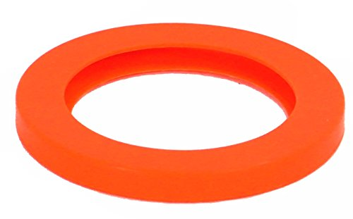 Best Value Vacs- 5.75'', Orange, Silicone, Vacuum Chamber Gasket by BEST VALUE VACS