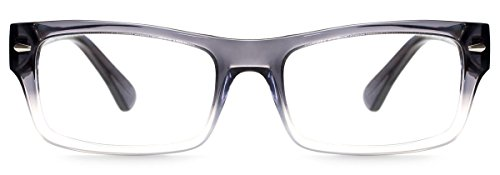 Readers.com Columbia Reading Glasses +1.00 to +6.00 Multiple Colors Columbia Bold Retro Frames felix + iris Reading Glasses by Readers (Image #1)