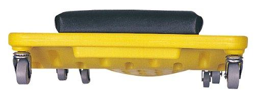 Lisle 93102 Yellow Plastic Creeper by Sherman (Image #1)