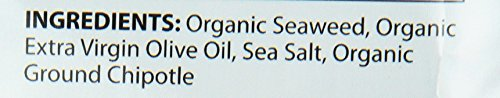 SeaSnax Organic Roasted Seaweed Snack, Spicy Chipotle, 0.54 Ounce (Pack of 16) by SeaSnax (Image #2)