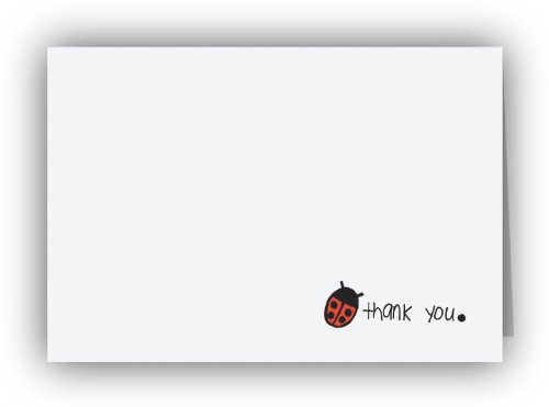 Ladybug Thank You Cards – 24 Cards and Envelopes, Health Care Stuffs