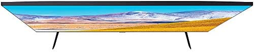 SAMSUNG UN50TU8000FXZA 50 inch 4K Ultra HD Smart LED TV 2020 Model Bundle with 1 Year Extended Protection Plan