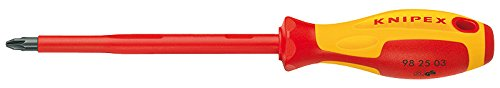Knipex 98 25 02 Pozidriv-Screwdriver PZ2 by KNIPEX Tools