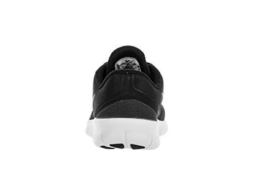 Nike Boy's Free RN (PS) Pre-School Shoe Black/Metallic Silver/Anthracite Size 12 Kids US by Nike (Image #3)