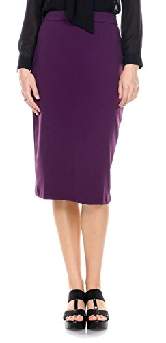 Womens Waisted Length Pencil Office
