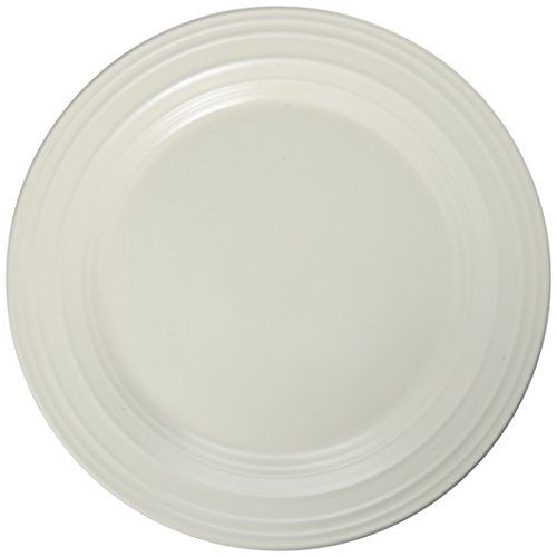 Mikasa Swirl White Salad Plate, 8.5-Inch