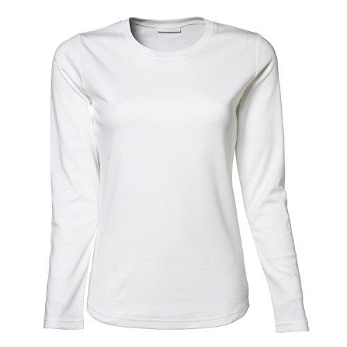 Oscuro Jays Gris Camiseta Para De Larga Mujer Manga Tee 1n8vwd0qq