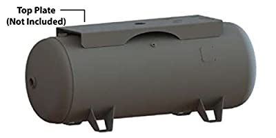 Manchester Tank Horizontal Air Receiver 60 Gallon 200 PSI w/ Legs Only