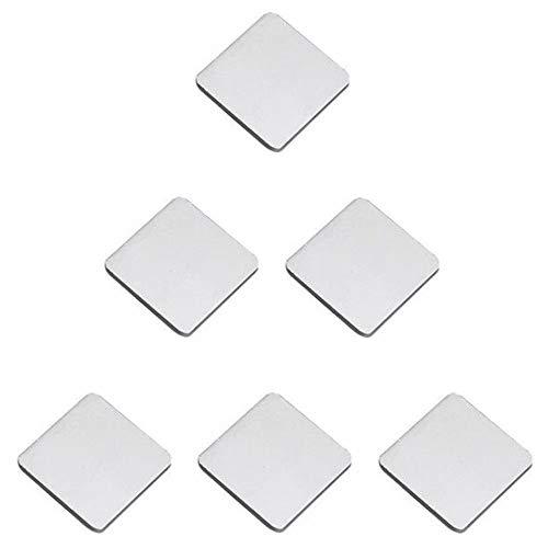 Choubao 6 pcs Fashion Simple Zinc Alloy Drawer Handle Black/White Kitchen Furniture Cabinet Hardware Knob, Handles Pull for Cupboard Dresser Bookshelf Shoebox -