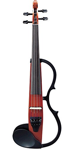 Yamaha SV-130 Series Silent Electric Violin Outfit, Brown Outfit