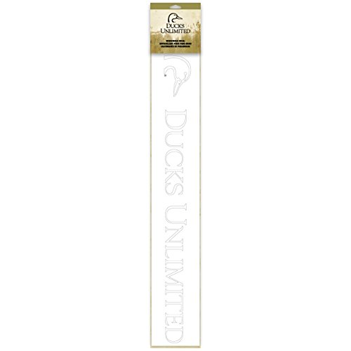 Ducks Unlimited Windshield Decal Sticker (Cowboy Belt Frame)
