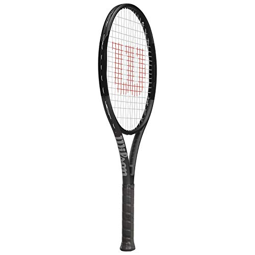 Wilson Pro Staff 25 Junior Tennis Racquet (Black) (Tennis Player Junior)