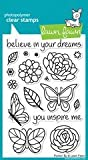 Lawn Fawn Flutter By 4x6 Clear Stamps LF383 by Lawn Fawn