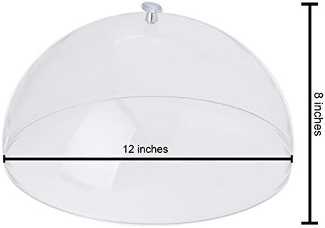 30cm Transparent Cuisinox Acrylic Dome