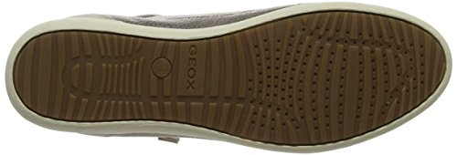 Geox D Myria A, Sneaker Donna Oro (Lead/Lt Taupe)