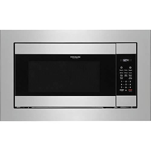 Frigidaire 2.2 Cu. Ft. Stainless Steel Built-In Microwave (Best Countertop Microwave With Trim Kit)